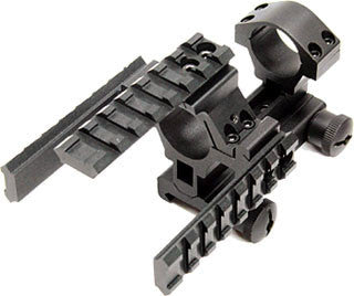 Carry Handle Mount with Integral Tactical Rings & Picatinny Tri-