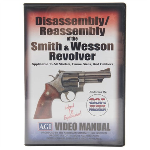 Smith & Wesson Revolvers  Disassembly/Reassembly