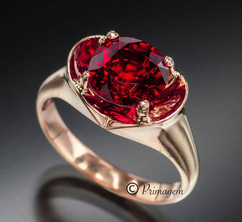 The Crimson Prince Ruby, possibly the nicest ruby we have laid our eyes upon