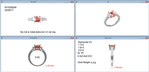 Technical design of this ring