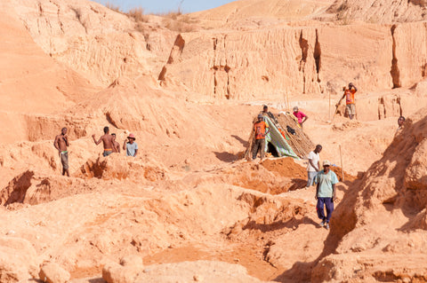 The PIT of World Bank, Ilakaka, Madagascar