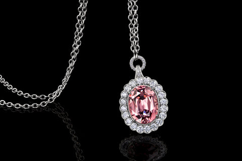 Mahenge Pink Spinel Pendant by Jeremy Dunn