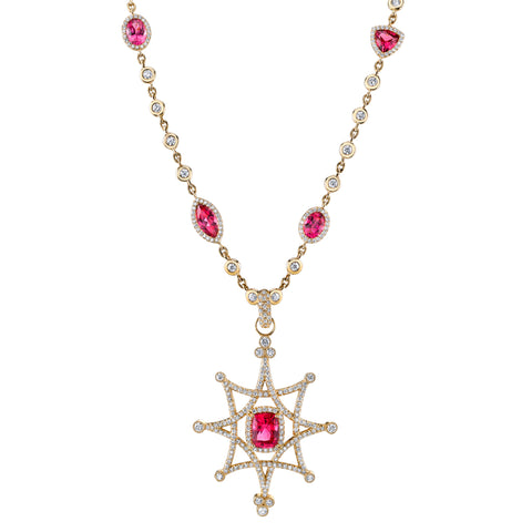 Erica Courtney's Jenifer Pendant, reminiscing of the Highest Distinction under French Law: La Legion D'honneur