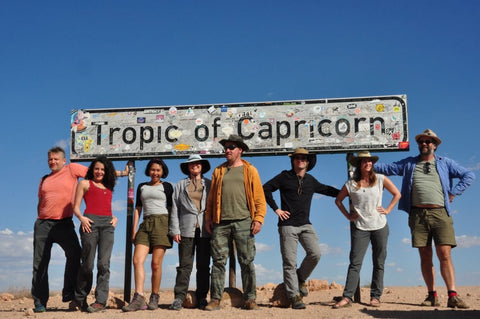 """Part of the Nomad's """"Family at the Tropic of Capricorn"""
