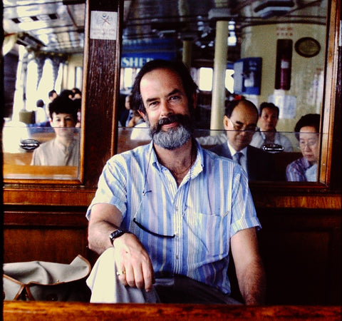 Here is Richard Wise in Hong Kong while on the hunt for pearls and jade in the early 90's - Photo Credits: Richard Wise