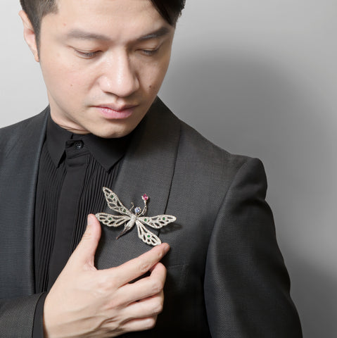 Here is Stewart Young featuring a lovely Fairy Brooch