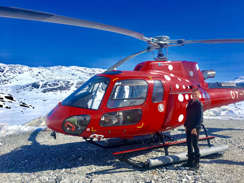 The famous Hayley Copter of Greenland Ruby A/S