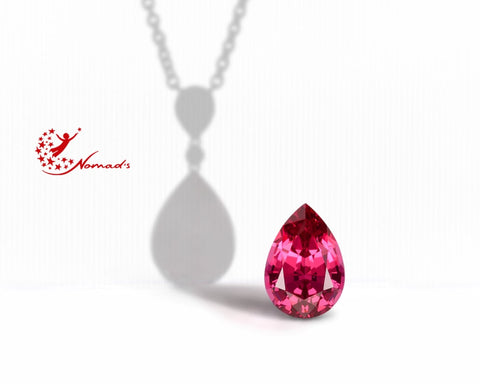 Here is a picture of a stunning Pink Spinel