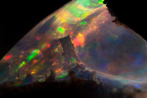 Opal. Mexico. Width of field = 4.8mm by Danny J Sanchez