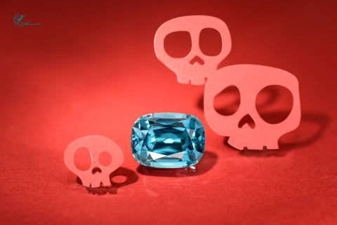 """A fine example of a """"Blue One"""", a Zircon with its full Halloween PaperWork"""