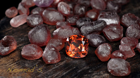 Malaya Garnets from the Nomad's Collection