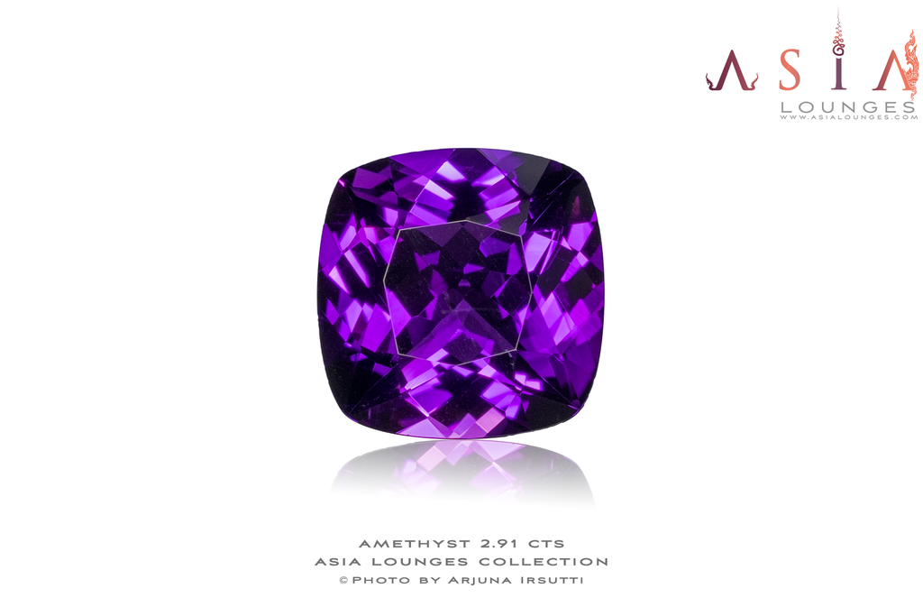 Zambian Amethyst 2.91 cts - Asia Lounges