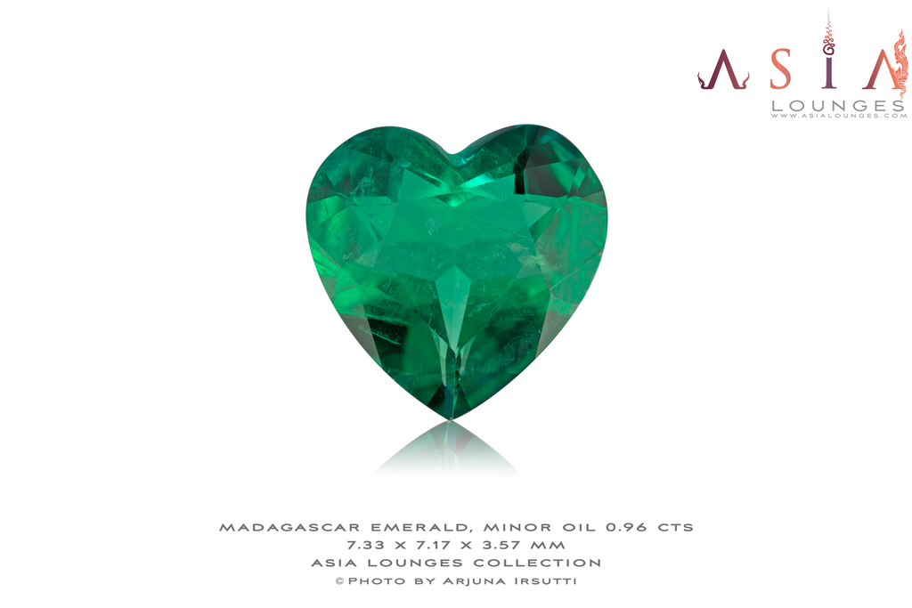 Madagascar Emerald 0.96 cts - Asia Lounges