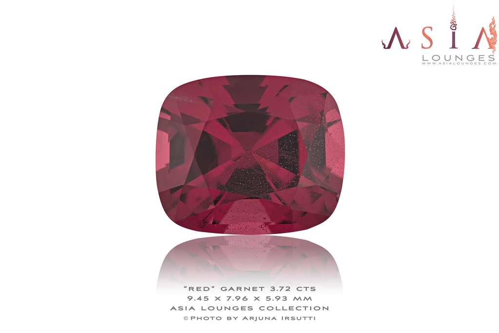 Tanzanian Red Garnet 3.72 cts - Asia Lounges