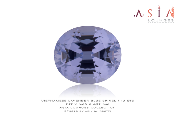 Sweet Lavender Blue Vietnamese Spinel 1.70 cts - Asia Lounges