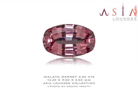 Light Pink Malaya Garnet