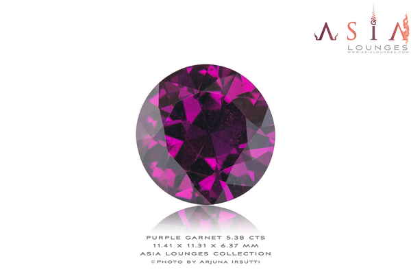 Mozambique Purple Garnet 5.38 cts - Asia Lounges