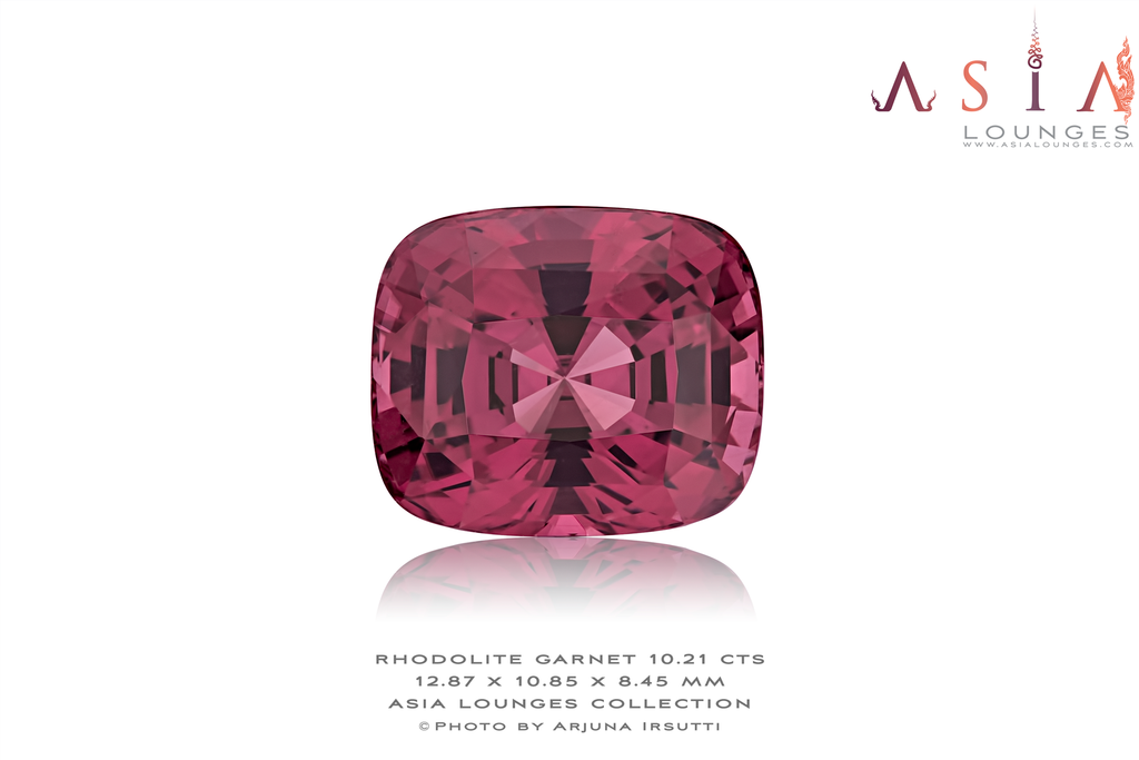 A stunning Rhodolite Garnet 10.21 cts - Asia Lounges