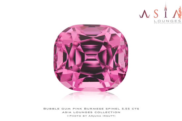 Stunning 5.55 carats Pink Burmese Spinel - Asia Lounges