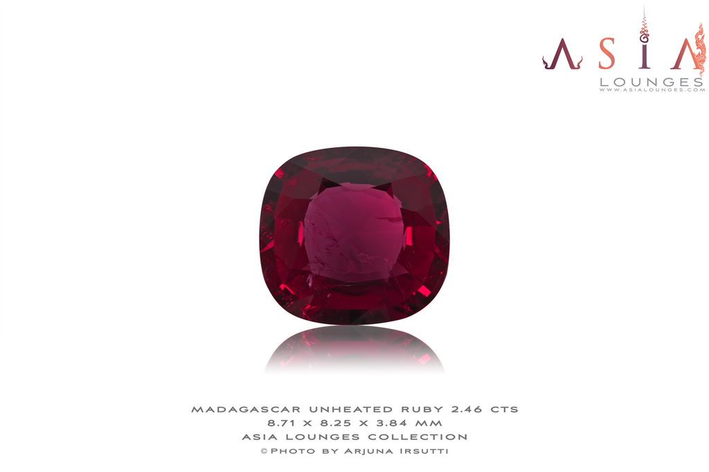 Madagascar Unheated Natural Red Ruby 2.46 - Asia Lounges