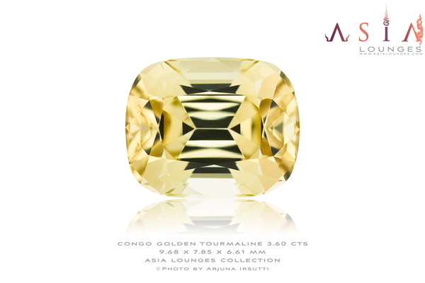 Congo Beach Yellow Tourmaline 3.60 cts - Asia Lounges
