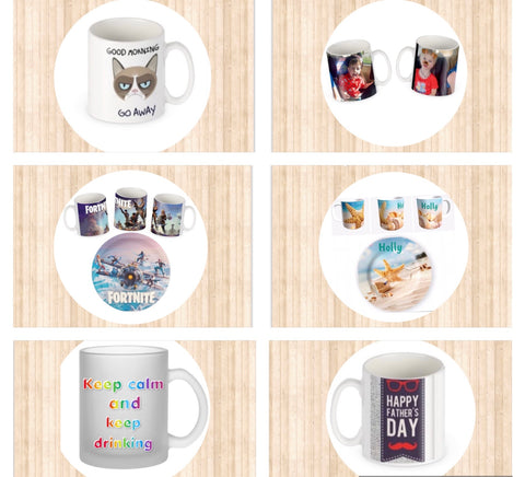 Personalised Mug and Plate Collections