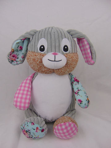 Pink Patchwork Bunny