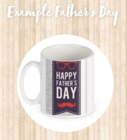 Father's Day Personalised Photo Mugs