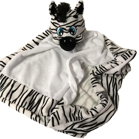 3 in 1 Zebra Snuggle Buddy