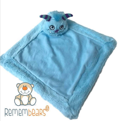 3 in 1 Blue Monster Snuggle Buddy