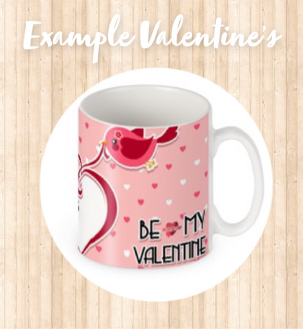 Valentine's Day Personalised Photo Mugs