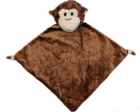 3 in 1 Brown Monkey Snuggle Buddy