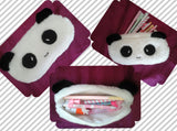 Personalised plush pencil case