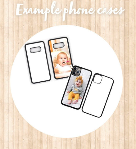 Photo personalised mobile phone case