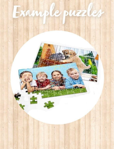 Personalised Photo puzzle