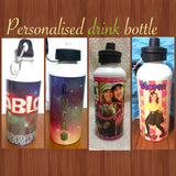Personalised aluminum drink bottles