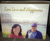 Personalised photo Texture Glass frame