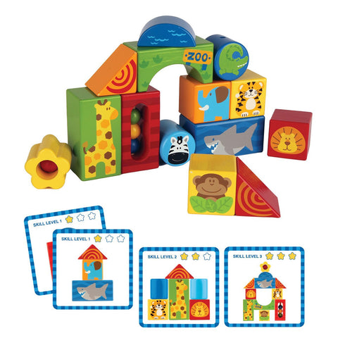 Zoo Wooden Blocks