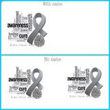 Ribbon awareness mugs
