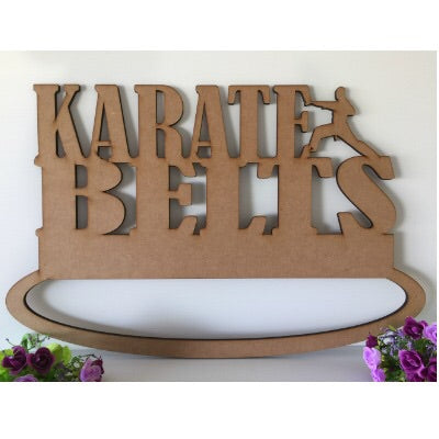 MDF Karate Belt Rack