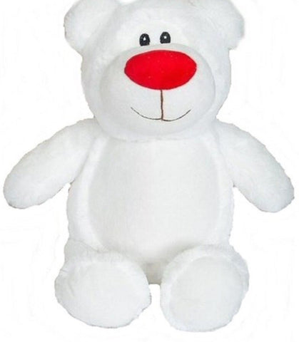 White bear red nose