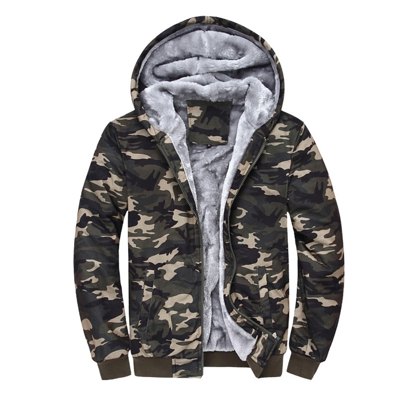 Men with Camouflage Cashmere Sweatshirt 1299