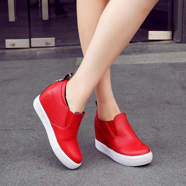 Lady Casual Woman Platform Wedges Shoes