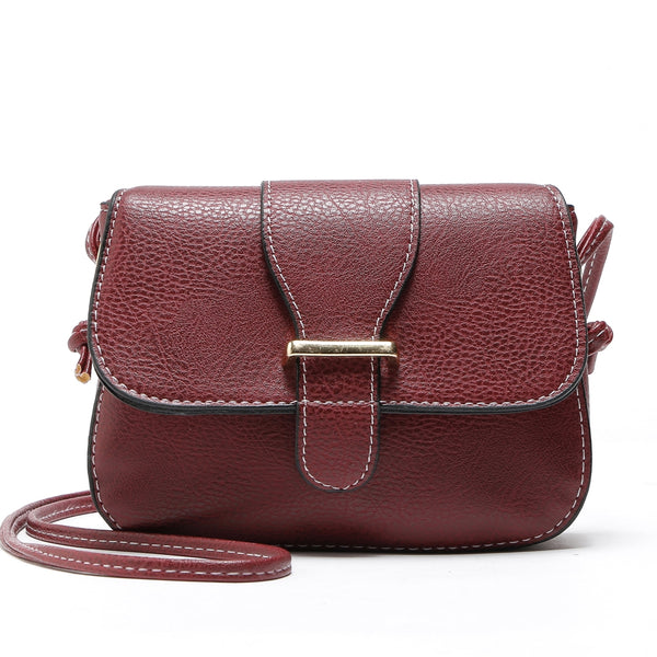 Retro Mini Zipper Hasp Crossbody Bags for Women 2629
