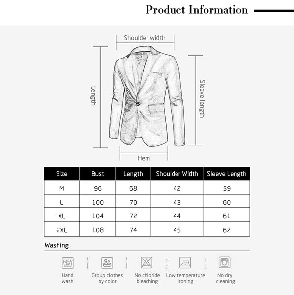 Fashion Lapel Pocket Edging Design Slimming Long Sleeve Corduroy Blazer For Men 8403