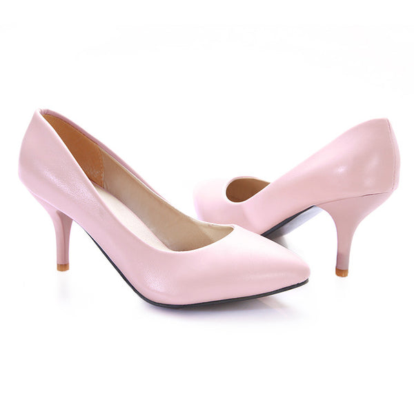 Pointed Toe High Heel Shoes Woman 2305