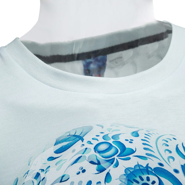 Stylish Male Casual 3D Printed Round Neck Short Sleeve T-shirt 6834