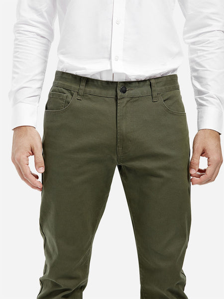Casual Stretch Slim Fit Long Pants for Man 3719