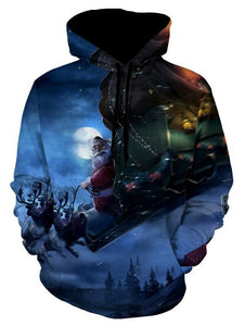 Christmas Eve Santa Clause Christmas Hoodie 5675