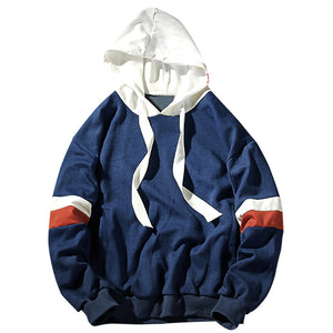 Color Block Mens Hoodie 4563
